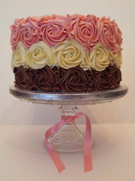 Best 20 Rose Swirl Cake Ideas On Pinterest