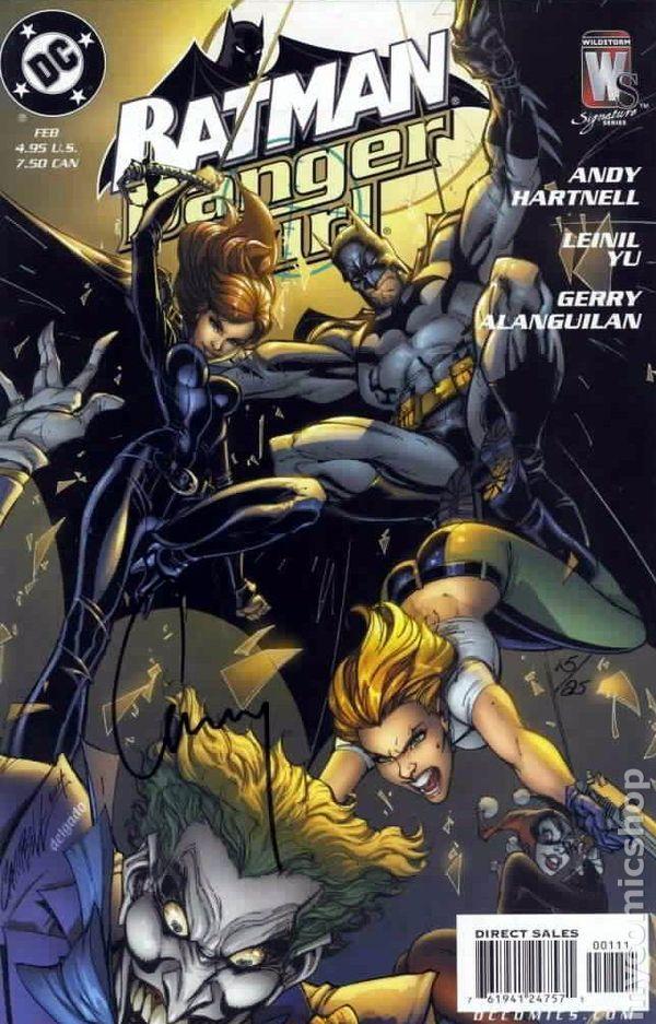 Batman Danger Girl (2005) 0BDFSIGNED