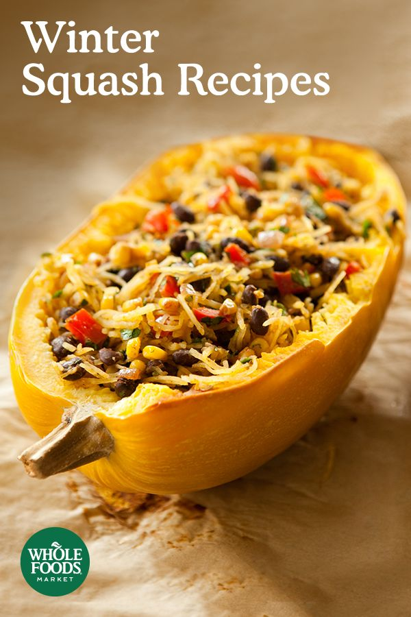 Discover delicious recipes for one of winter's favorite ingredients: squash. From Spicy Black Bean Spaghetti Squash to Butternut Hummus to Pumpkin Pecan Cookies, these sweet and savory recipes will take centerstage all season long.