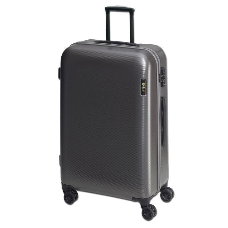 Großer #Koffer d&n Lederwaren Travel Line 8200 bei Koffermarkt: ✓aus Polycarbonat ✓78x49x29 ✓4 Rollen ✓3,7 kg ✓TSA-Schloss