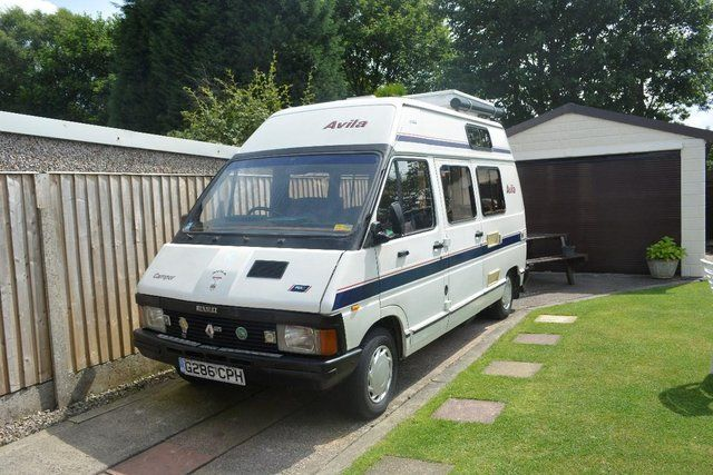 Renault Trafic Camper Van T1000 1 Used Camper Vans