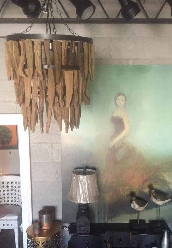 Driftwood Chandelier Creative Coop