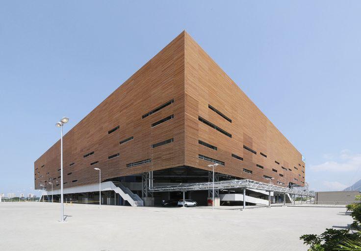 Rio Olympic Handball Arena by And Architects http://www.archello.com/en/project/rio-olympic-handball-arena
