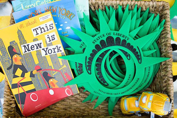 A NEW YORK THEME BIRTHDAY PARTY « PARY FAVORS