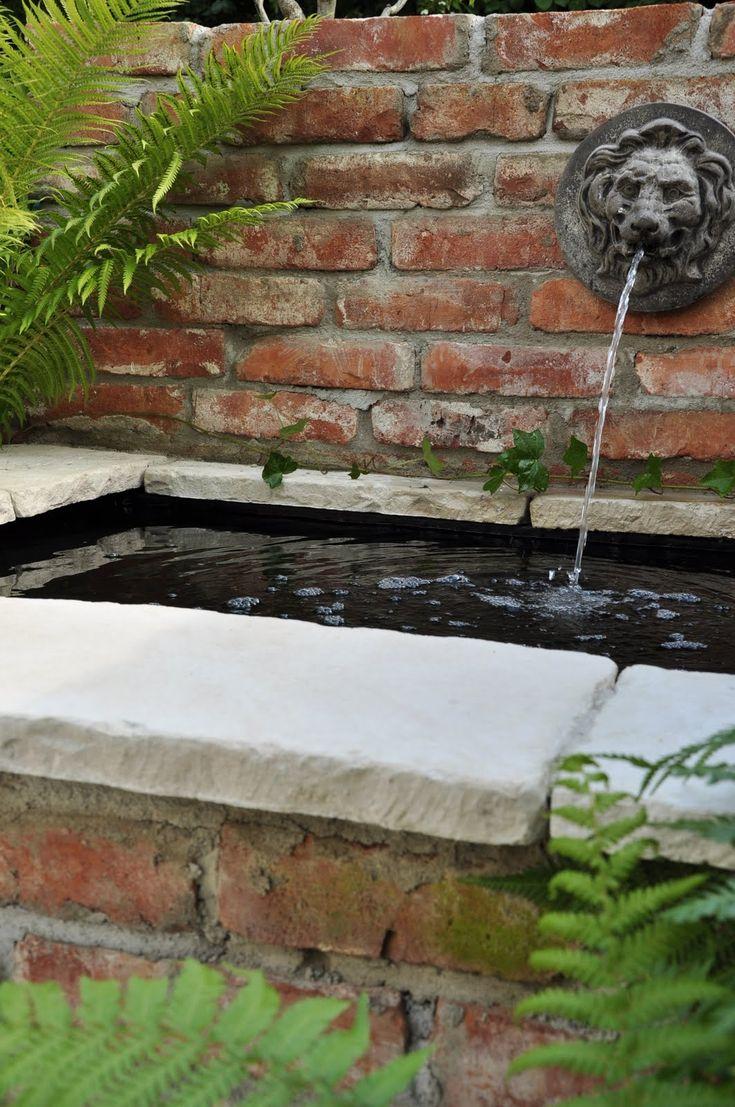 25 best ideas about old bricks on pinterest brick path for Brick koi pond