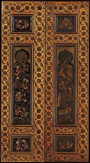 Door Panel, late 19th century. Iran. The Metropolitan Museum of Art, New York. Rogers Fund, 1907 (07.54.1)