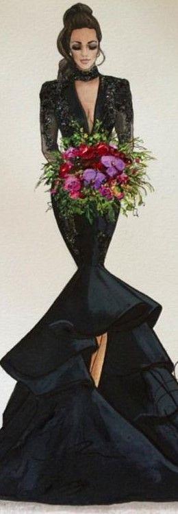 Karen Orr fashion illustration
