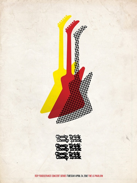 Cheap Trick Poster Concept | Crazy Bands I Grew Up With | Pinterest: pinterest.com/pin/246712885809769051