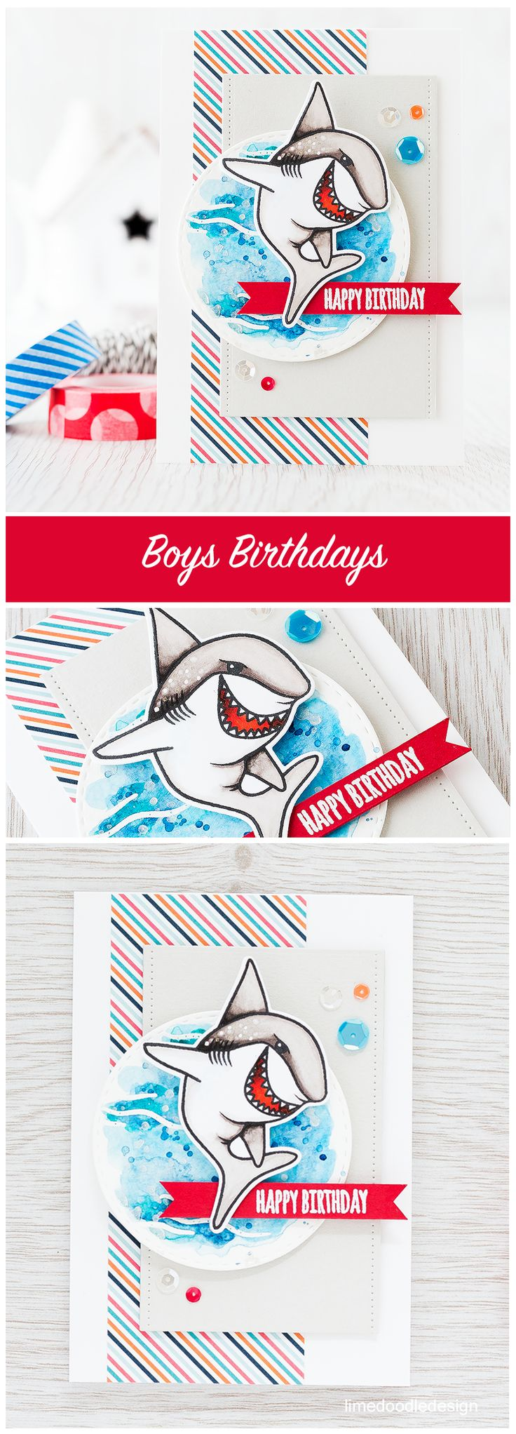 Design muse shark week - Sharks Are A Great Option For Boys Birthdays And Girls Of Course Lol Find