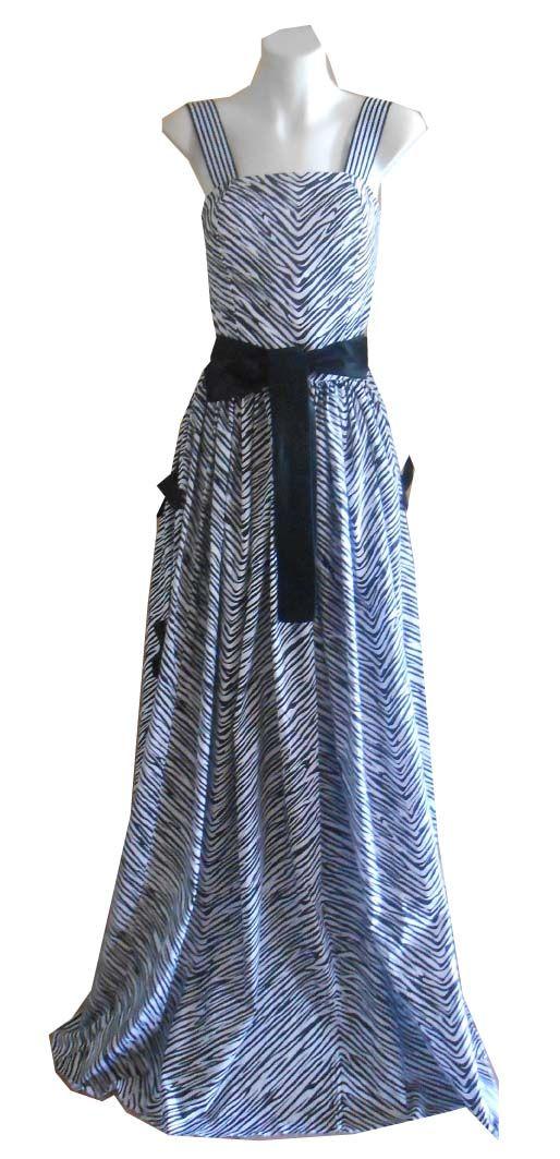 HARAH DESIGNS ZEBRA DRESS