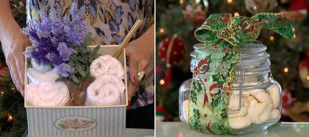 Faça em casa: especialista dá dicas de presentes criativos e baratos de Natal. A organizadora de ambientes Lucy Mizael ensinou, entre outras lembranças, a fazer uma compota de mel aromatizada. Aprenda! ♥