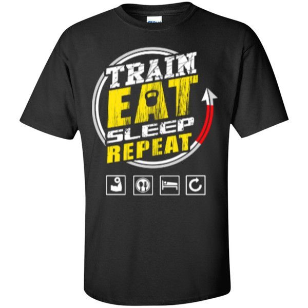 Train, Eat, Sleep and Repeat (Mens)