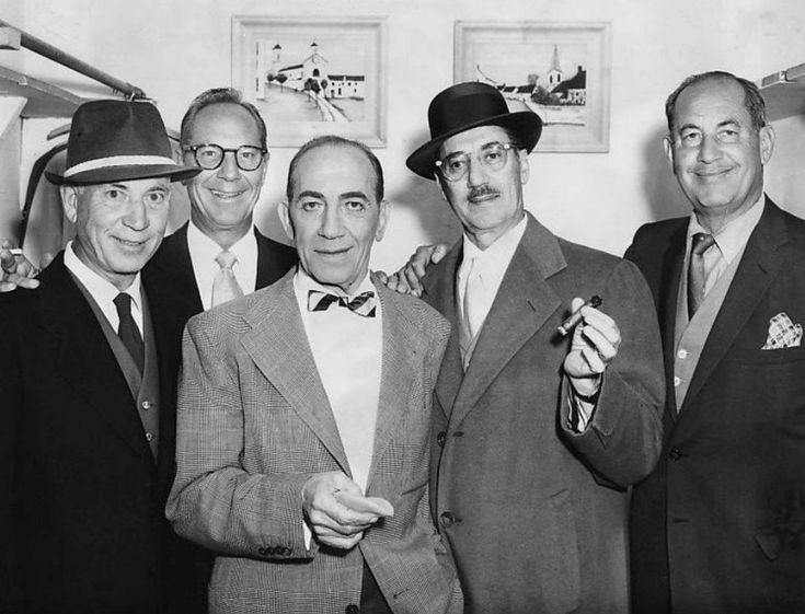 The Marx Brothers: Harpo, Zeppo, Chico, Groucho, and Gummo