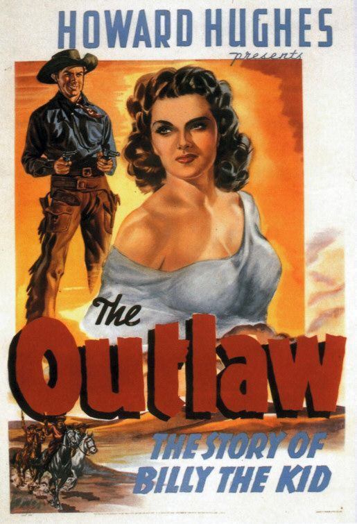 Howard Hughes' The Outlaw (1943) starring Jane Russell