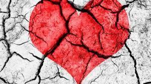 Image result for images of a broken heart