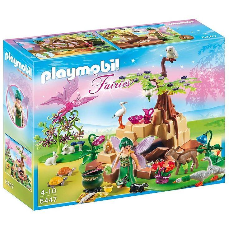 Playmobil Wróżki Wróżka czarodziejskiego nektaru elixia w zagajniku leśnym, 5447, klocki