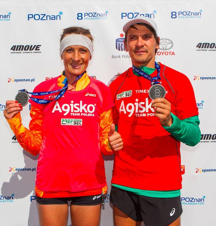 Zwycięzcy 8.Poznań Półmaraton [fot. Przemysław Szyszka]