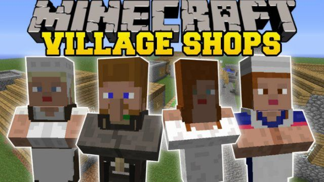 Mo' Villages Mod for Minecraft 1.7.10