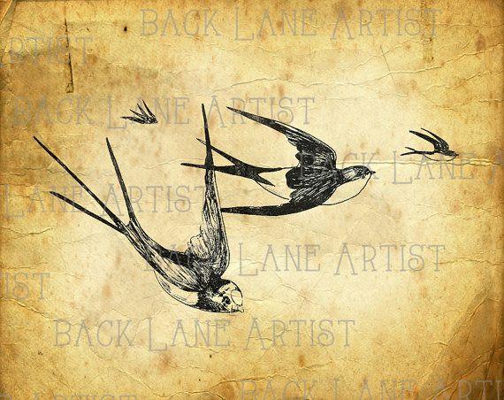 art installation tres birds natureinrichtung