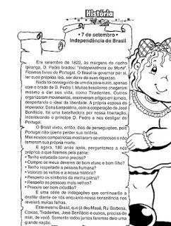 """Escola Municipal """"Luiz Vaz de Camões"""": Semana da Pátria"""