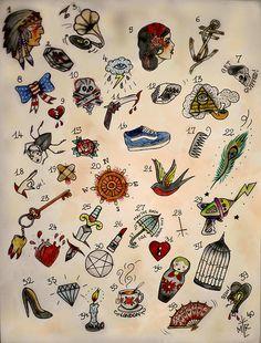 old school tattoo - Google'da Ara