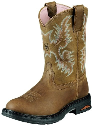 Ariat Work Boots Womens Tracey Pull on CT Dusted « Shoe Adds for your Closet