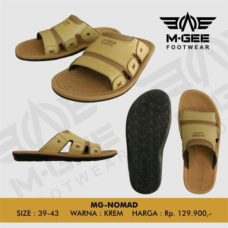 M-GEE Footwear MG-NOMAD Cream