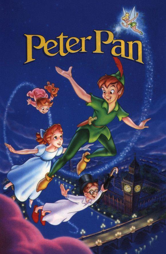 Peter Pan 11x17 Movie Poster (1953)