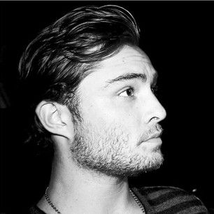 When his jaw line was so sharp and sexy it could slice through steel: | 27 Times Life Was Better Because Ed Westwick Exists