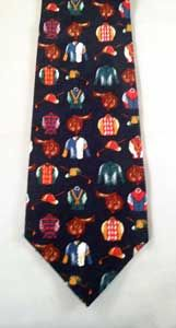 Jockey Design Tie. Look Stylish and Have Fun!