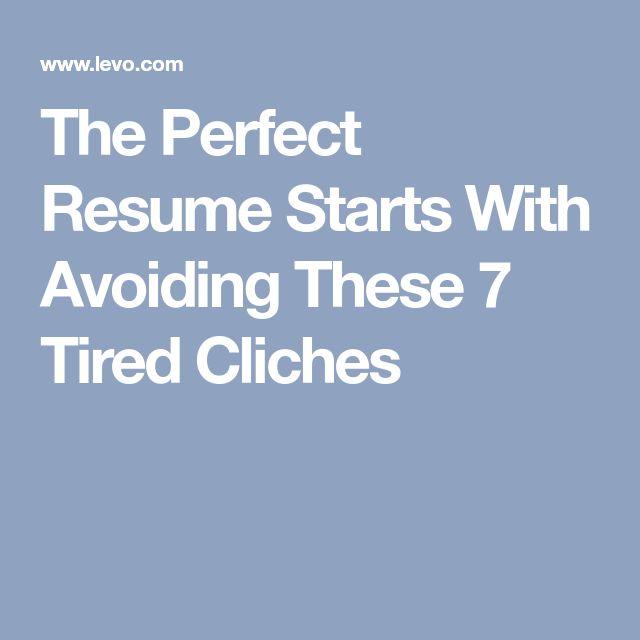 Mer enn 25 bra ideer om Perfect resume på Pinterest Resymé - the perfect resume