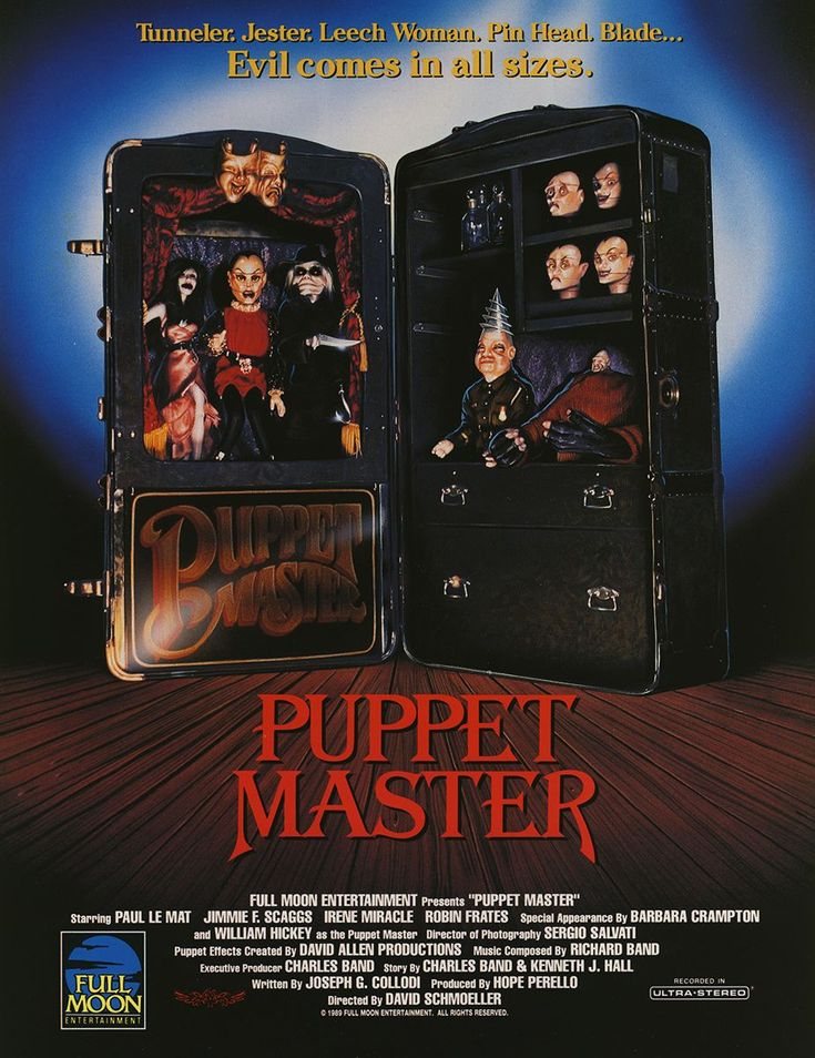puppet master 1989 movie review tourist trap. Black Bedroom Furniture Sets. Home Design Ideas