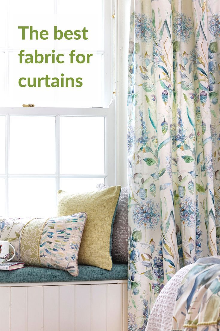 What Is The Best Fabric For Curtains Find Out About Different Types Of Fabrics And How To Use Them As Cur Cool Curtains Grey Home Decor Country Style Curtains