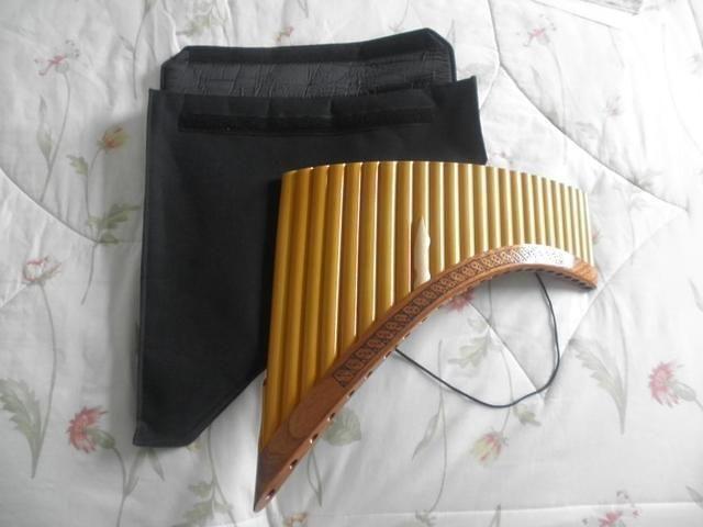 Handgefertigte professionelle Konzert #Panflöte                                                  mit Tune Set perfekt gestimmt von einem professionellen Instrumentenbauer.