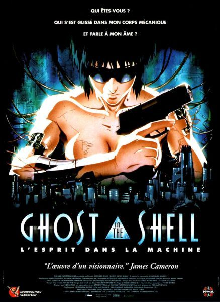 8 jours avant la version live Guillaume Gas​ revient sur le Ghost in the Shell de Mamoru Oshii