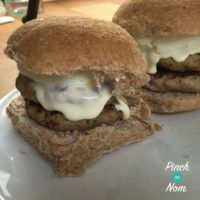 Syn Free Double Sausage & Egg Fakeaway McMuffins| Slimming World - Pinch Of Nom
