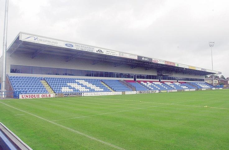 Moss Rose Stadium - Macclesfield FC from Football.co.uk