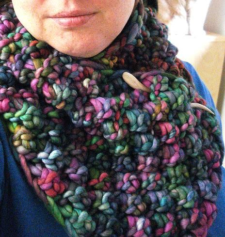 Blue Brambles by Alyssa Heath. malabrigo Rasta, Arco Iris colorway.
