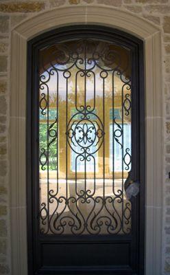 Best 25+ Iron doors ideas on Pinterest   Iron front door ...