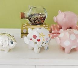 I love Piggy banks! I currently have two!