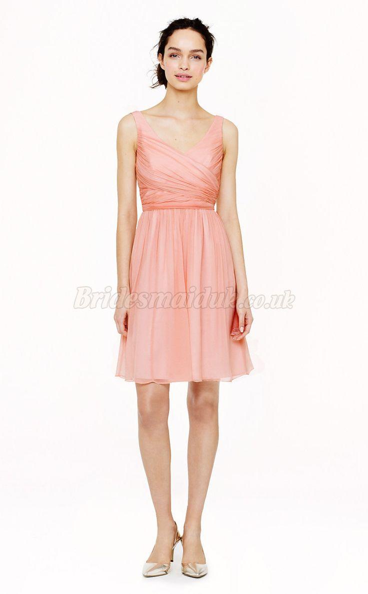 74 best short bridesmaid dresses images on pinterest for Used short wedding dresses
