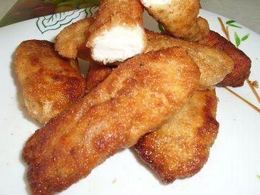 Домашние наггетсы, куриное филе в панировке