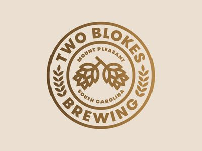 Two Blokes Brewing - Jay Fletcher #design #logo