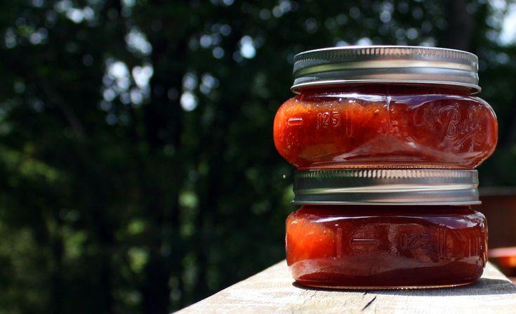 100% Local: Apricot & Plum Preserves