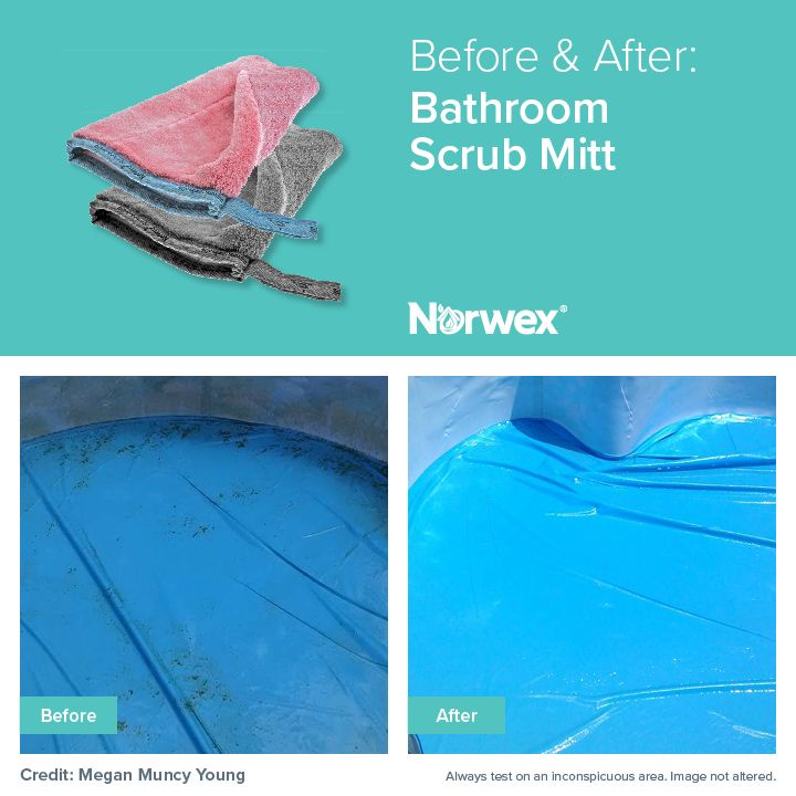 17 best images about before and after images by norwex on for How to use norwex bathroom scrub mitt