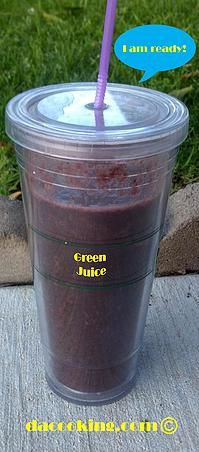 dacooking.com | Green Juice - Basic