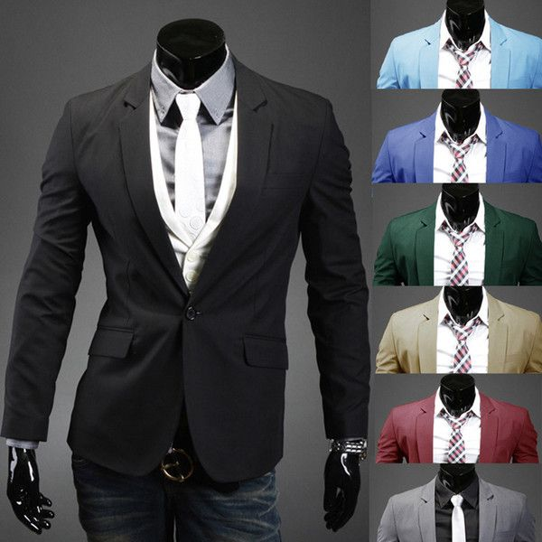 Men's Suits & Blazers Wholesaler Minicon Sells Hot Sale 2015 New Design Mens Brand Blazer Jacket Coats,Casual Slim Fit Stylish Blazers For Men,Suits Size M~xxl,| Dhgate.Com