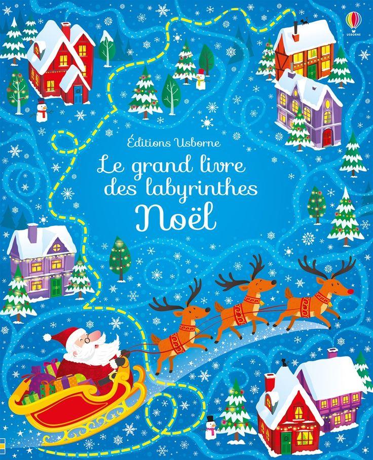 [Les lecteurs en herbe] Le grand livre des labyrinthes -Noël- de Sam Smith