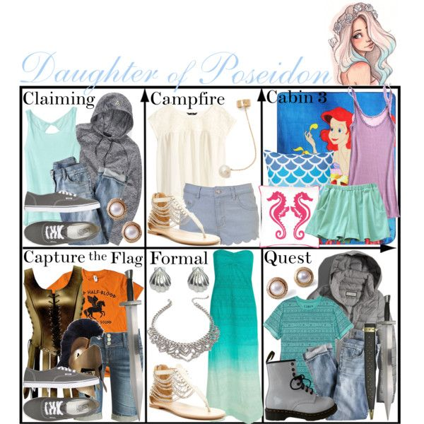 """Daughter of Poseidon ~ Wardrobe"" by liesle on Polyvore"