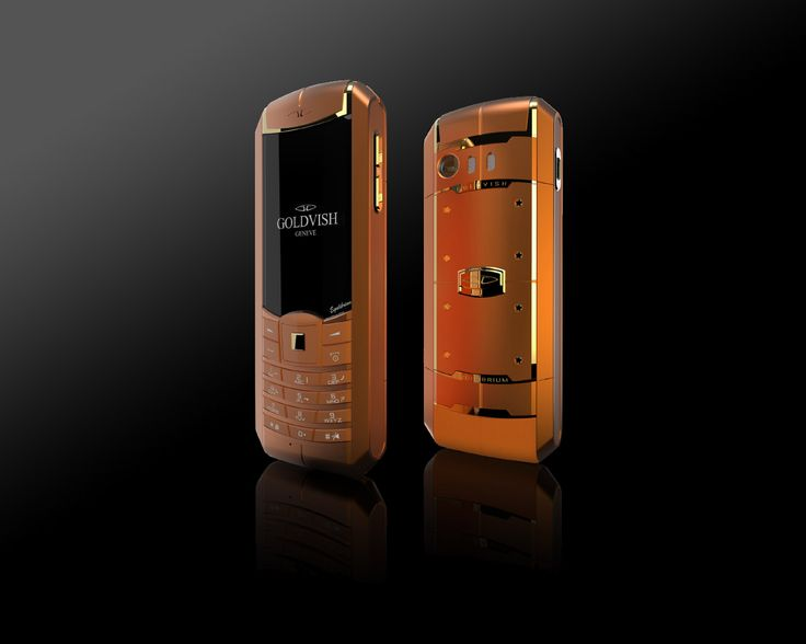 Goldvish Equilibrium - Neon Gold,   Orange metal with 18K Yellow Gold,  MSRP: €15.420,-